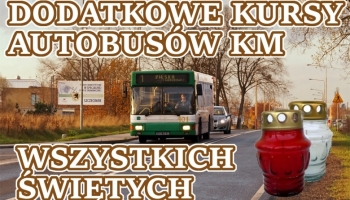 Wszystkich Świętych - dodatkowe kursy Komunikacji Miejskiej