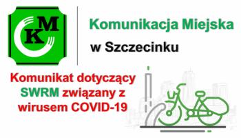 Komunikat dot. SWRM związany z wirusem COVID-19