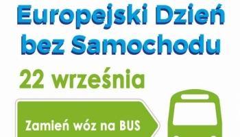 22 września - Europejski Dzień bez Samochodu