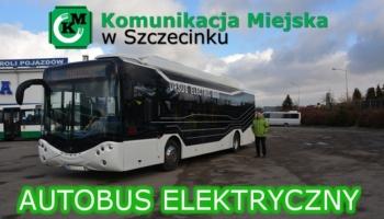 Autobus elektryczny firmy Ursus