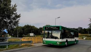 Zmiana w kursowaniu autobusu lini nr 14
