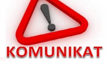 KOMUNIKAT - zawieszenie kursów 15.01.2018