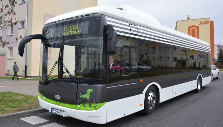 Autobus elektryczny w Komunikacji Miejskiej w Szczecinku