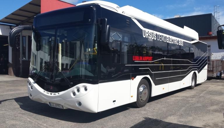 Kolejny autobus elektryczny w Szczecinku.